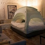 Simple-Fabric-Floor-less-Indoor-Privacy-Tent-on-Bed-Blackout-keep-Warm-Play-Tent-with-FREE-GIFT-0