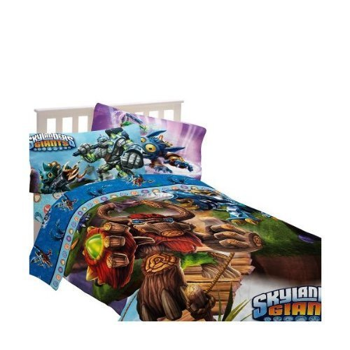 Skylanders-Energy-Conquers-Full-Size-Comforter-Bed-Skirt-and-Shams-0