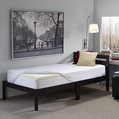 Sleep-Innovations-2-inch-Memory-Foam-Mattress-Topper-and-Waterproof-Mattress-Pad-Twin-XL-0-0