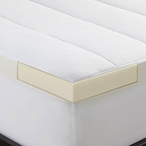 Sleep-Innovations-2-inch-Memory-Foam-Mattress-Topper-and-Waterproof-Mattress-Pad-Twin-XL-0