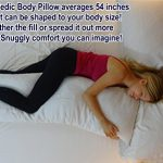 Snuggle-Pedic-Shredded-Bamboo-Combination-Memory-Foam-Body-Pillow-With-Kool-Flow-Cover-0-0