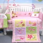 SoHo-Butterflies-Meadows-Baby-Crib-Nursery-Bedding-Set-13-pcs-included-Diaper-Bag-with-Changing-Pad-Bottle-Case-0-0