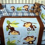 SoHo-Playful-Monkey-Baby-Crib-Nursery-Bedding-Set-14-pcs-0-0