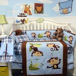 SoHo-Playful-Monkey-Baby-Crib-Nursery-Bedding-Set-14-pcs-0