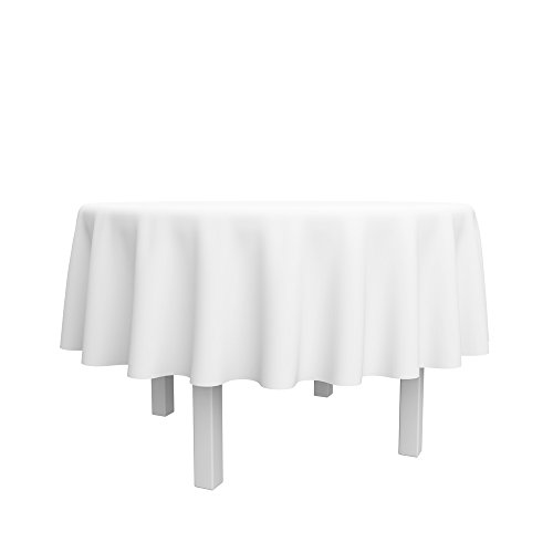 Spring-RoseTM-90-Inch-White-Round-Polyester-Tableclothset-of-10-0-0