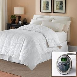 Sunbeam-All-Season-KING-Premium-Heated-Mattress-Pad-with-Two-Heating-Digital-Controllers-250-Thread-Count-100-Cotton-0