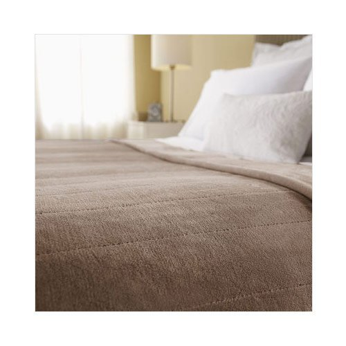 Sunbeam-Channeled-Velvet-Plush-Electric-Heated-Blanket-Twin-Full-Queen-King-Sizes-0-0