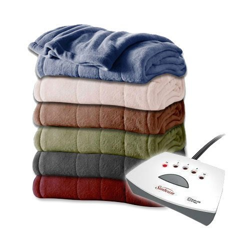 Sunbeam-Channeled-Velvet-Plush-Electric-Heated-Blanket-Twin-Full-Queen-King-Sizes-0