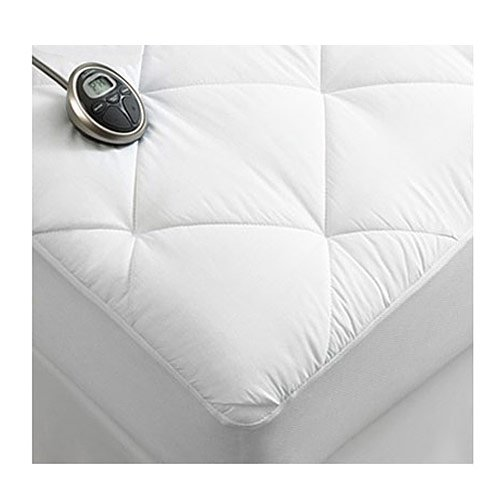 Sunbeam-Premium-Luxury-Quilted-Electric-Heated-Mattress-Pad-King-Size-0