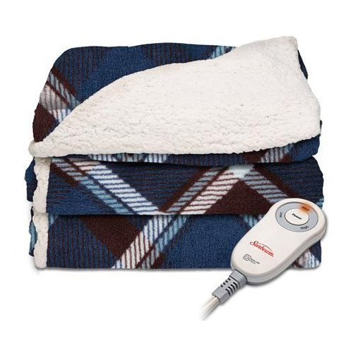 Sunbeam-Sherpa-Imperial-Plush-Electric-Heated-Throw-Blankets-Assorted-Colors-0-1