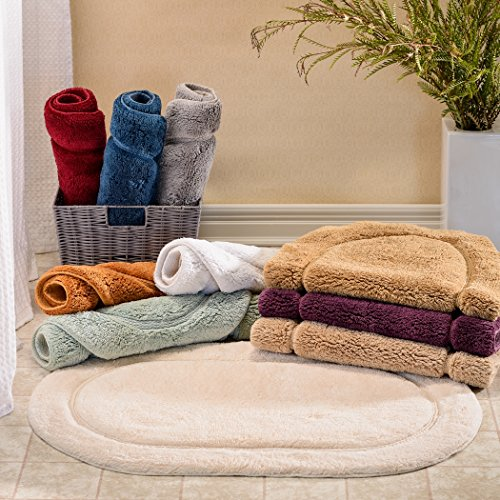 Superior-2-Piece-Cotton-Oval-Bath-Rug-Set-0-0
