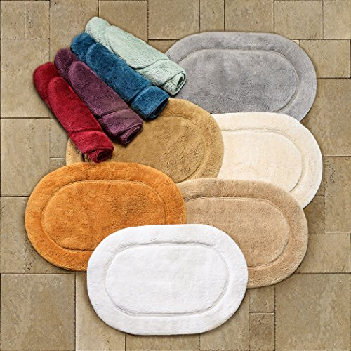 Superior-2-Piece-Cotton-Oval-Bath-Rug-Set-0