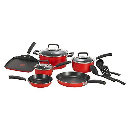 T-fal-C111SC-Signature-Nonstick-Thermo-Spot-Heat-Indicator-Cookware-Set-12-Piece-Black-0