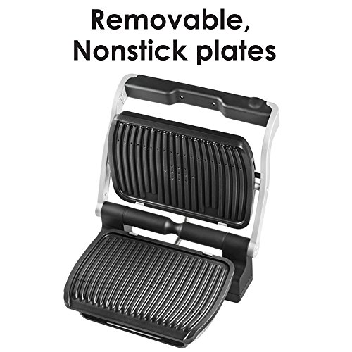 T-fal-GC702-OptiGrill-Stainless-Steel-Indoor-Electric-Grill-with-Removable-and-Dishwasher-Safe-plates-0-1