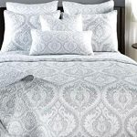 Tache-3-PC-Austere-Gray-Moon-Sky-Bedspread-Quilt-Set-0