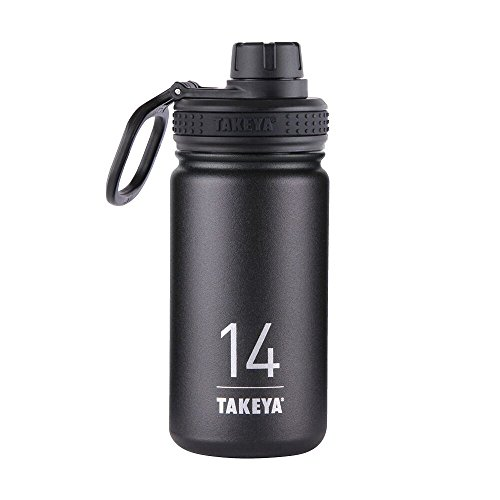 Takeya-Thermoflask-Insulated-Stainless-Steel-Water-Bottle-14-oz-Asphalt-0
