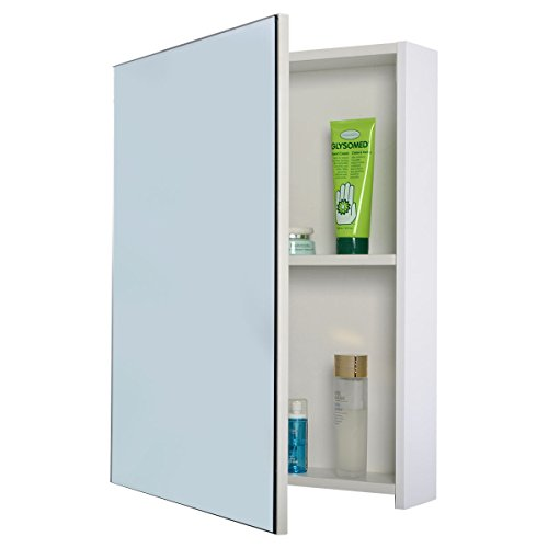 Tangkula-20-Wide-Wall-Mount-Mirrored-Bathroom-Cabinet-Storage-Single-Door-0-1