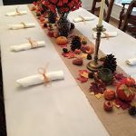 Thanksgiving-Tablecloth-Napkins-and-Fall-Decor-Setting-Set-Includes-Ivory-Linens-Natural-Burlap-Runner-0