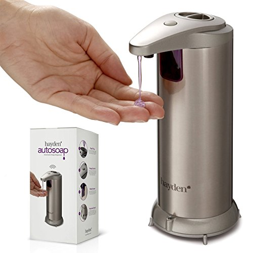 The-Original-Hayden-Autosoap-Premium-Automatic-Touchless-Soap-Dispenser-Fingerprint-Resistant-Brushed-Stainless-Steel-Hand-Sanitiser-compatible-NEW-Waterproof-Base-0