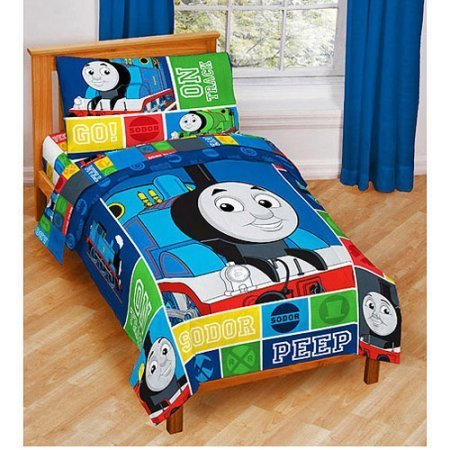 Thomas-and-Friends-4-Piece-Toddler-Bed-Set-0