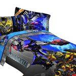 Transformers-Bedding-Set-Optimus-Prime-Alien-Machines-Comforter-and-Sheet-Set-0-0