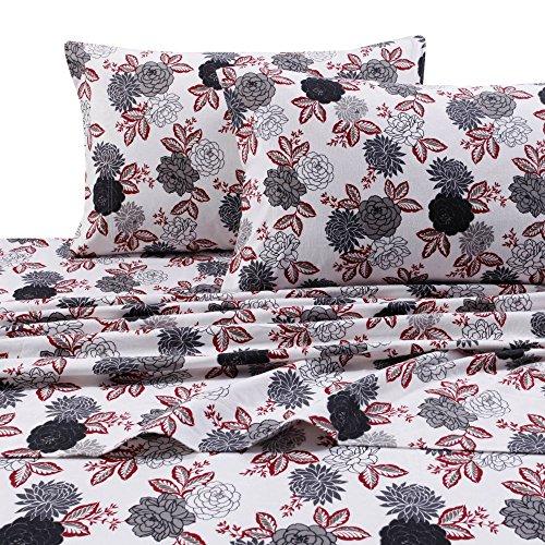 Tribeca-Living-Dahlia-Floral-Printed-Deep-Pocket-Flannel-Sheet-Set-0