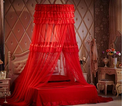 Triple-Lace-Ruffle-Princess-Bed-Canopy-0-1