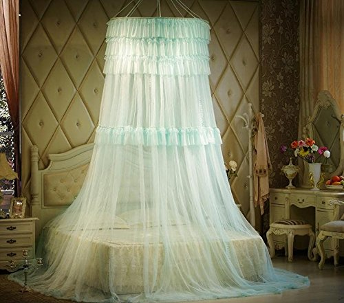Triple-Lace-Ruffle-Princess-Bed-Canopy-0