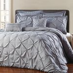 Unique-Home-8-Piece-Reversible-Pinch-Pleat-Comforter-Set-Fade-Resistant-Wrinkle-Free-No-Ironing-Necessary-Super-Soft-Mater-grey-0-0