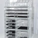 Unique-Home-Acrylic-Jewelry-and-Cosmetic-Storage-Makeup-Organizer-Set-4-Piece-0-0