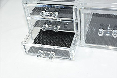 Unique-Home-Acrylic-Jewelry-and-Cosmetic-Storage-Makeup-Organizer-Set-4-Piece-0-1