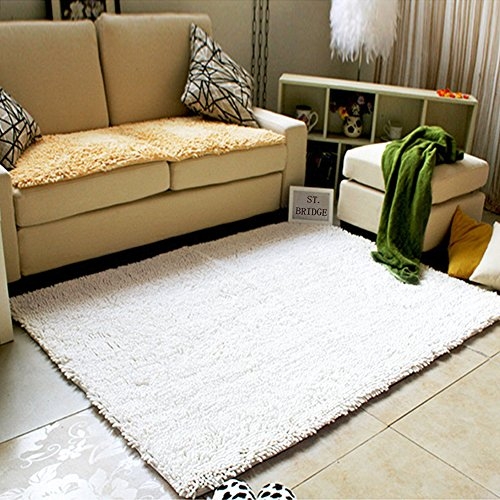 Updated] LOCHAS Microfiber Non-slip Bath Rug Bathroom Floor Mats ...
