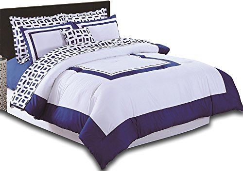 Utopia-Bedding-8-Piece-Bed-In-a-Bag-Blue-0-0