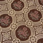 Vintage-Elegant-Beige-Lace-Tablecloth-Linen-Embroidered-Flower-Burgundy-Translucent-Gauze-Customer-Order-0-1