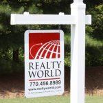 Vinyl-PVC-Real-Estate-Sign-Post-White-0-0