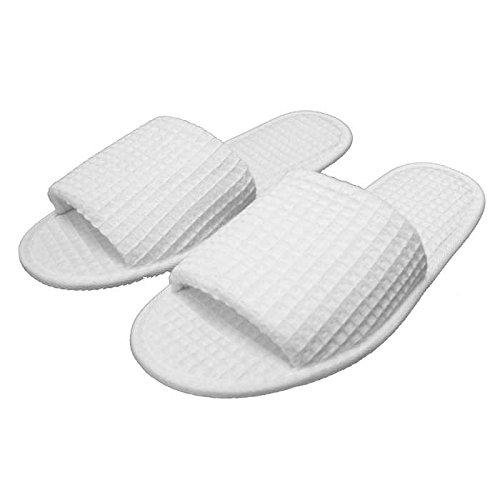 Waffle-Kimono-Bathrobe-Square-Pattern-Unisex-with-Bonus-Premium-Waffle-Slippers-0-1