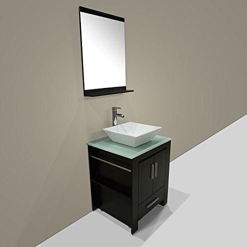 Walcut-New-24-Wood-Bathroom-Vanity-Cabinet-Ceramic-Sink-Bowl-Modern-Contemporary-Design-wMirror-0-1
