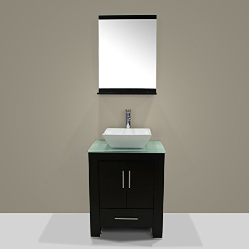 Walcut-New-24-Wood-Bathroom-Vanity-Cabinet-Ceramic-Sink-Bowl-Modern-Contemporary-Design-wMirror-0