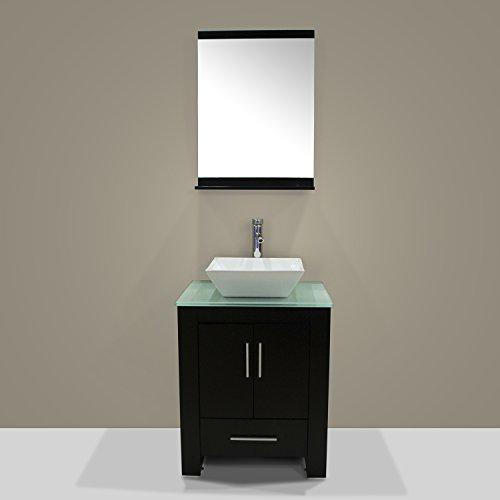 Walcut-New-24-Wood-Bathroom-Vanity-Cabinet-Ceramic-Sink-Bowl-Modern-Contemporary-Design-wMirror-0