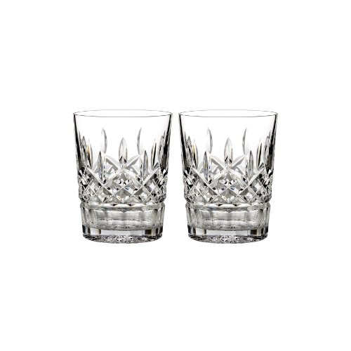 Waterford-Lismore-12-oz-Double-Old-Fashioned-Set-of-2-0