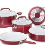 WearEver-C943SA-Pure-Living-Nonstick-Ceramic-Coating-Scratch-Resistant-PTFE-PFOA-and-Cadmium-Free-Dishwasher-Safe-Oven-Safe-Cookware-set-10-Piece-Red-0