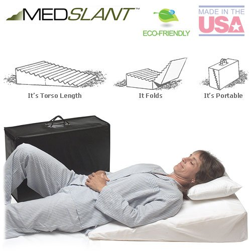 Wedge-Pillow-for-Acid-Reflux-32x24x7-Folding-Pillow-includes-a-Zippered-Poly-Cotton-Folding-Cover-Fitted-Poly-Cotton-Cover-and-Quality-Carry-Case-Recommended-by-Dr-Mike-Roizen-as-a-Reflux-and-Snoring–0