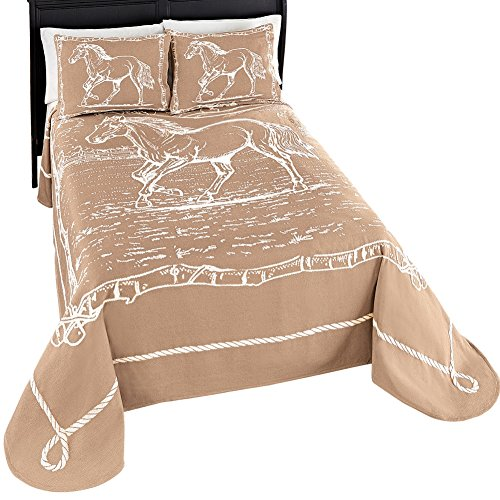 Western-Galloping-Horse-Bedspread-0
