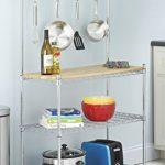 Whitmor-6054-268-Supreme-Bakers-Rack-Chrome-and-Wood-0-1
