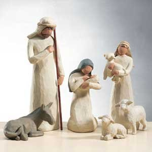 Willow-Tree-10-Piece-Starter-Nativity-Set-By-Susan-Lordi-with-Go-Green-Compressed-Bamboo-Towels-0-0