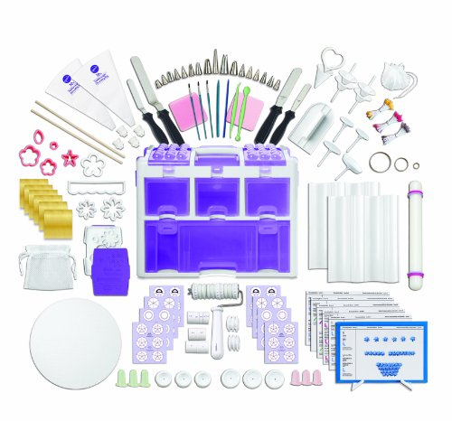 Wilton-2109-0309-Ultimate-Professional-Cake-Decorating-Set-Purple-Discontinued-By-Manufacturer-0