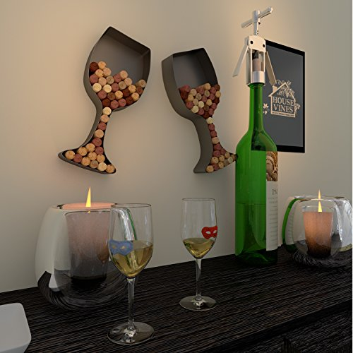 Wine-Glass-Cork-Holder-Art-Wall-Dcor-Metal-Set-of-2-Includes-Sample-Silicone-Wine-Glass-Charm-by-HouseVines-0-0