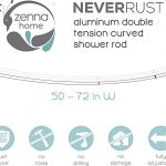Zenna-Home-NeverRust-Aluminum-Double-Curved-Tension-Shower-Curtain-Rod-50-to-72-Inch-0-1