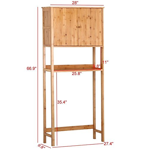 go2buy-Bamboo-Space-Saver-Cabinet-Over-Toilet-for-Bathroom28-x-98-x-669-WxDxH-0