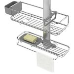 simplehuman-Adjustable-Shower-Caddy-Plus-Extendable-Stainless-Steel-and-Anodized-Aluminum-0-0